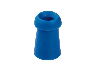 Tympstöpsel 7mm blau