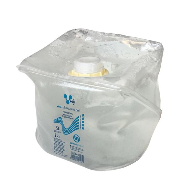 Vue Ultraschallgel 5L Cubitainer (1 Stck.) mit 250 ml Spenderflasche