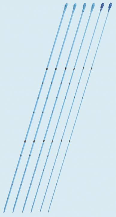 Ureter-Dilatatoren Set gerade CH6/8/10/12/14/16 Länge 70cm