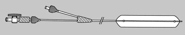 Ureter Ballon-Dilatator 70cm; Ballon: CH15, 40cm Schaft: CH5; für Führungsdraht 0,035''
