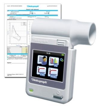Vitalograph micro TM Hand Spirometer inkl. Berichtssoftware