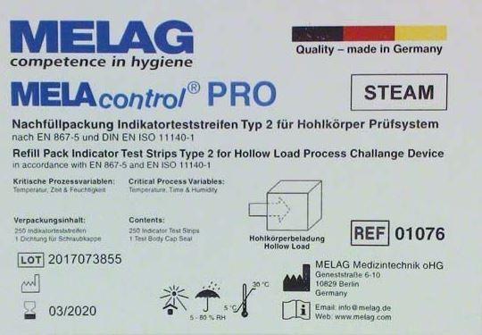 Wash-Checks - RDG Indikatorplättchen (100 Stck.)