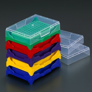 0.2ml PCR Rack, Stacking Assorted (5 p.)
