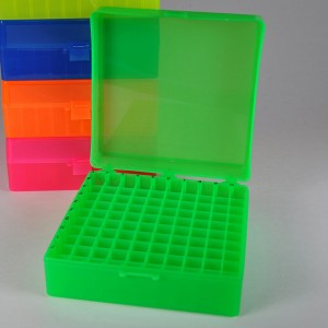 100-Pos. Freezer Storage Rack Green (5 p.)