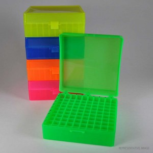 100-Pos. Freezer Storage Rack Yellow (5 p.)