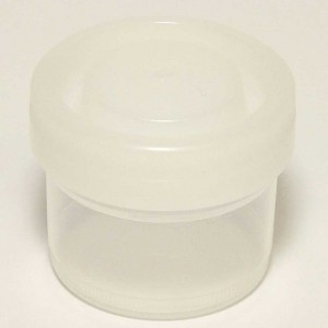 40ml Sample Container White Cap No Label Sterile (500p.)