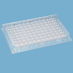 96 Well Microplate, Flat well Non-Sterile, (10x10p.)