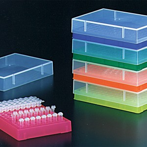 0.2ml PCR Tube Rack with Lid  Assorted (5 p.)