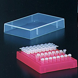 0.2ml PCR Tube Rack with Lid Pink (5 p.)