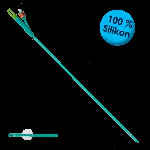 Siflex® Katheter - Nelaton, grün