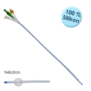 Silstar® Spül-Katheter Nélaton